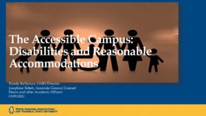 the accessible campus